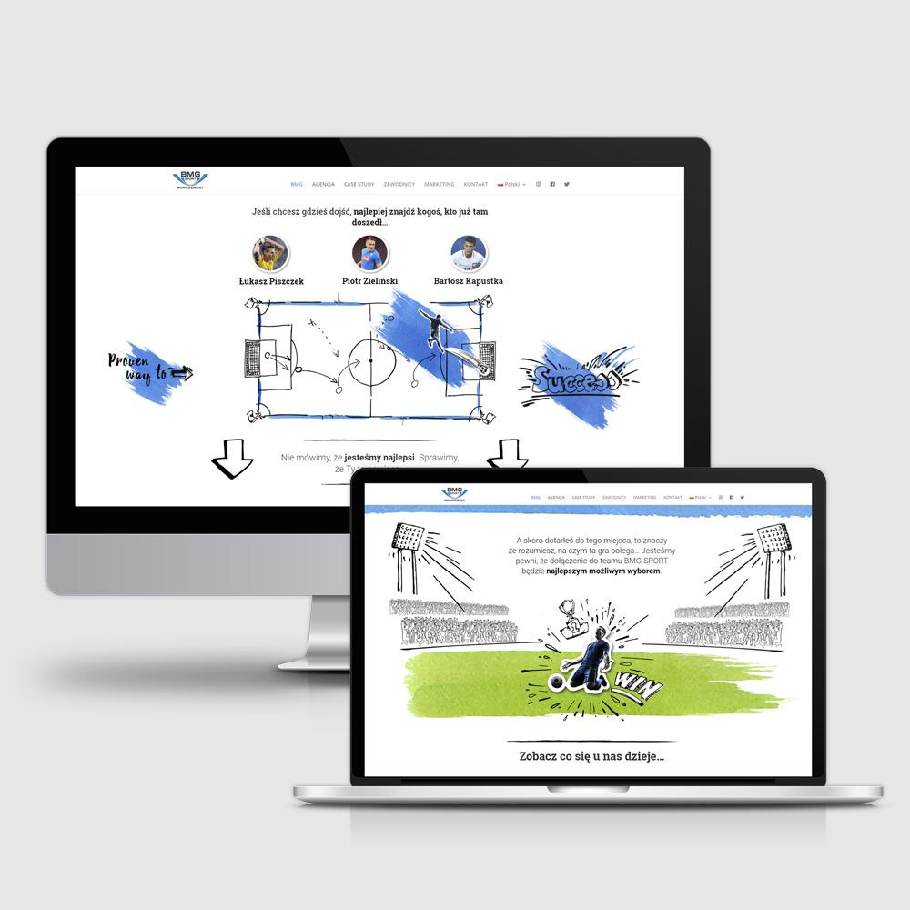 projektowanie stron internetowych BMG-SPORT 2
